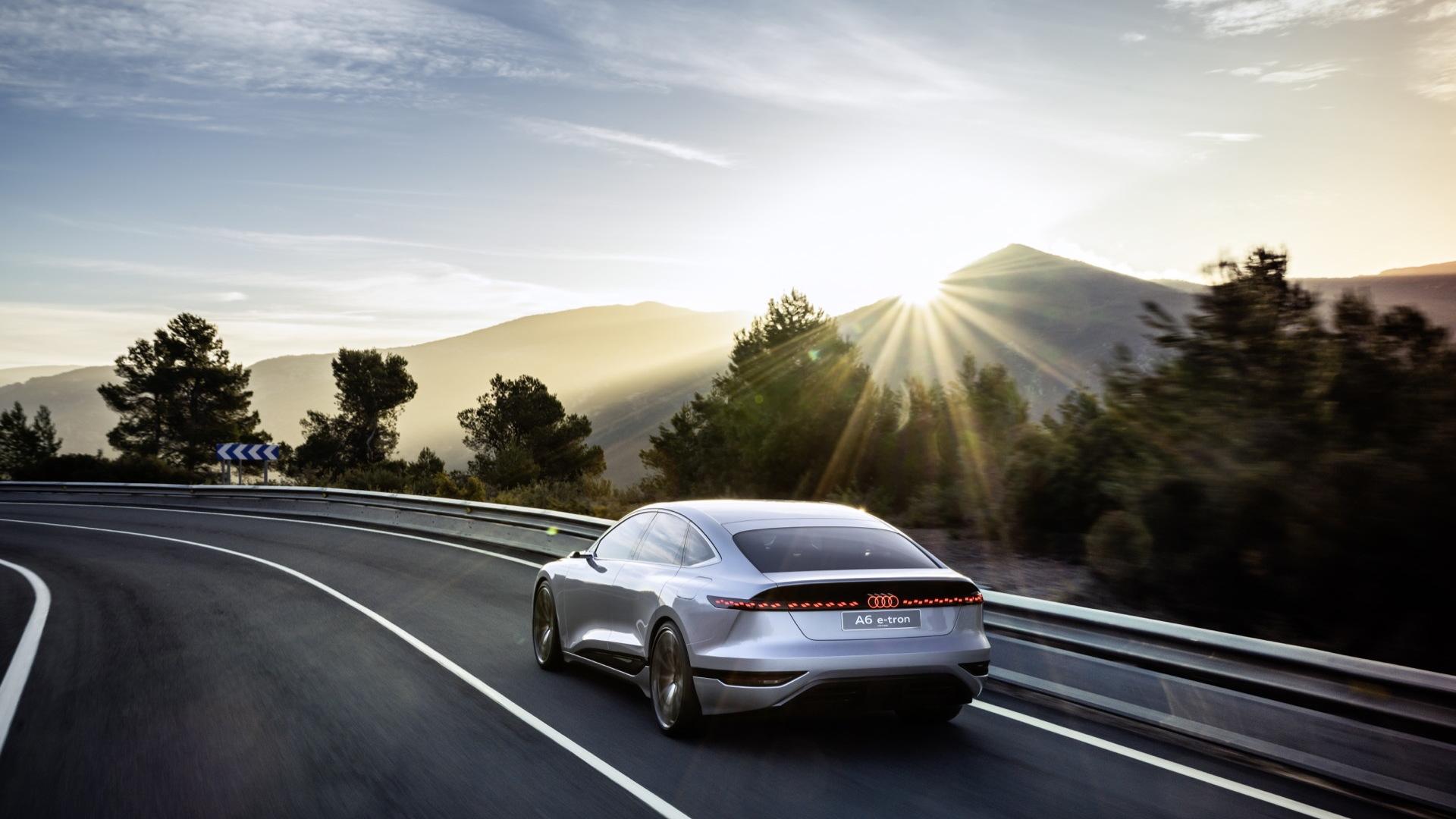 Audi A6 E-Tron Concept  -  2021 Shanghai Motor Show