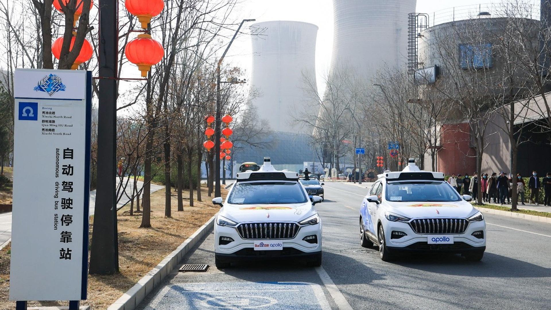 Baidu's Apollo Go driverless taxi service