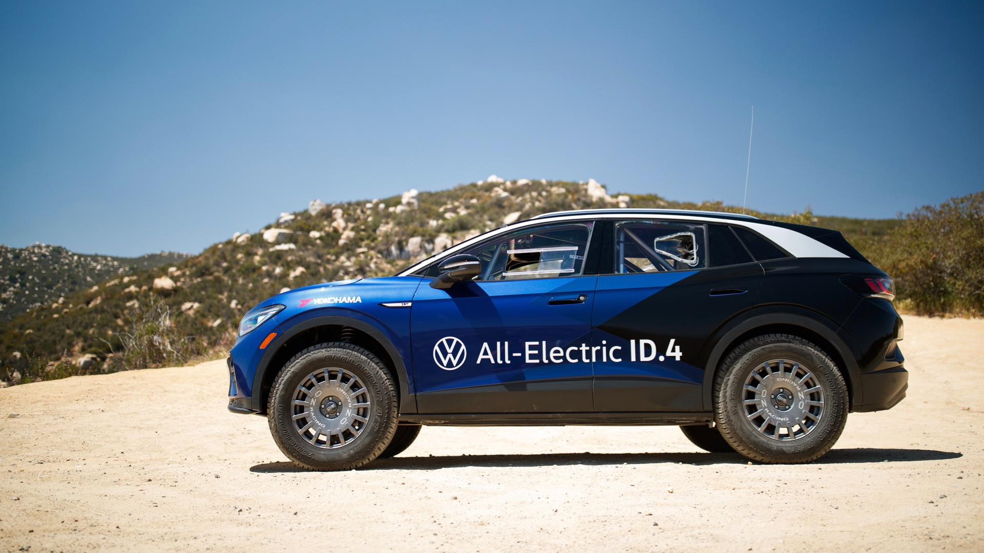 Volkswagen ID.4 NORRA Mexican 1000 off-road racer