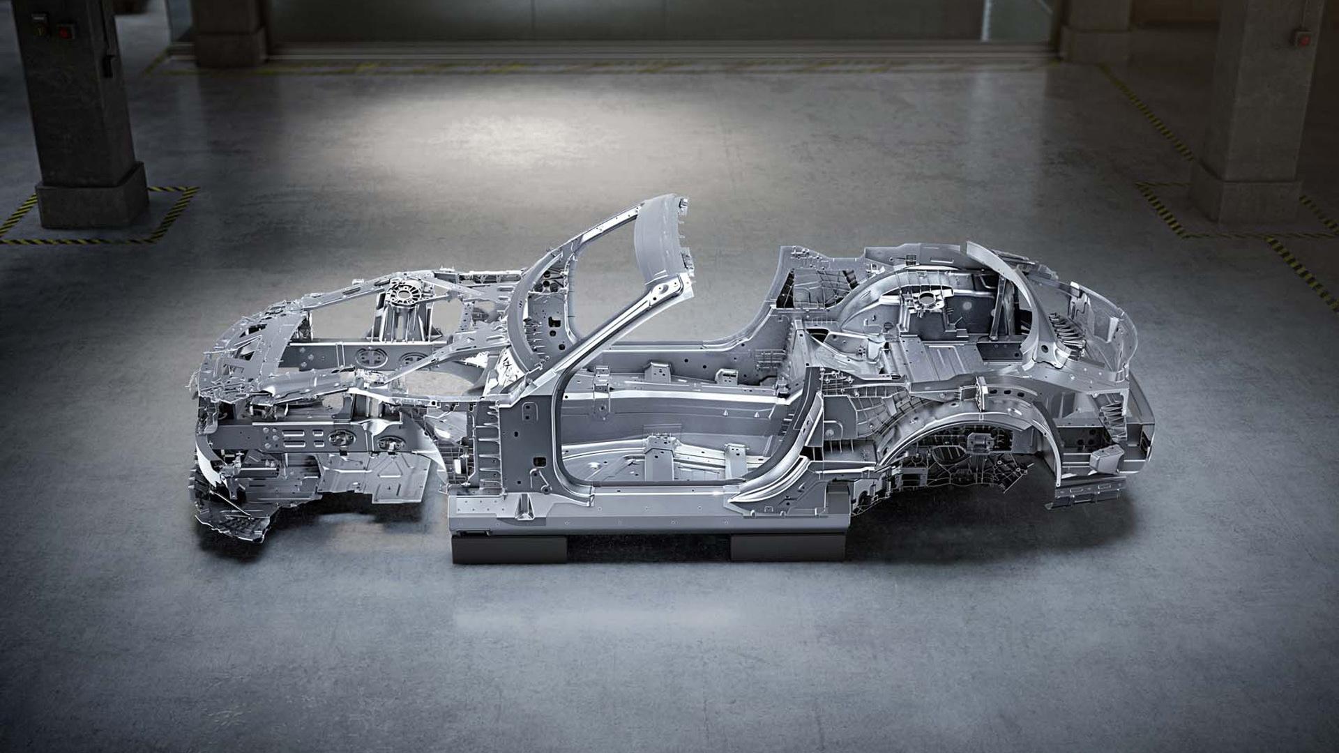 2022 Mercedes-Benz AMG SL Roadster body shell