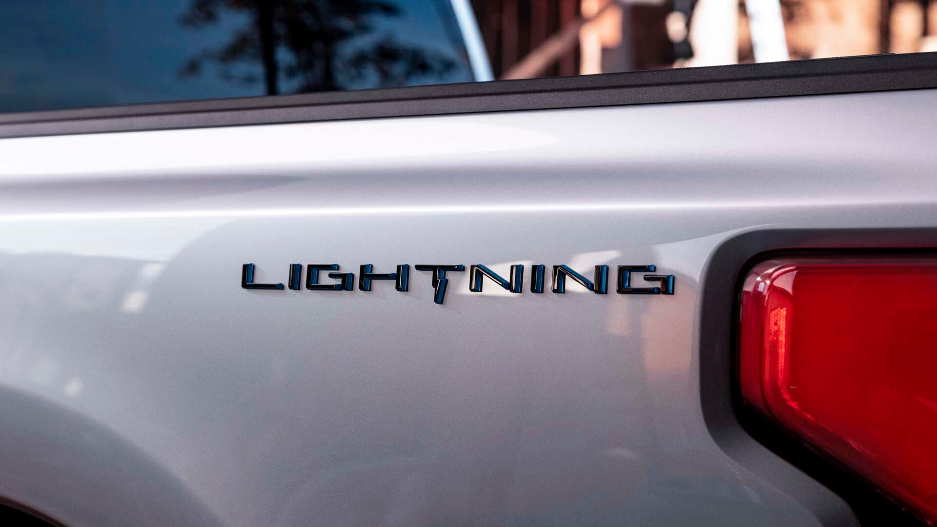 Electric Ford F-150 Lightning teaser