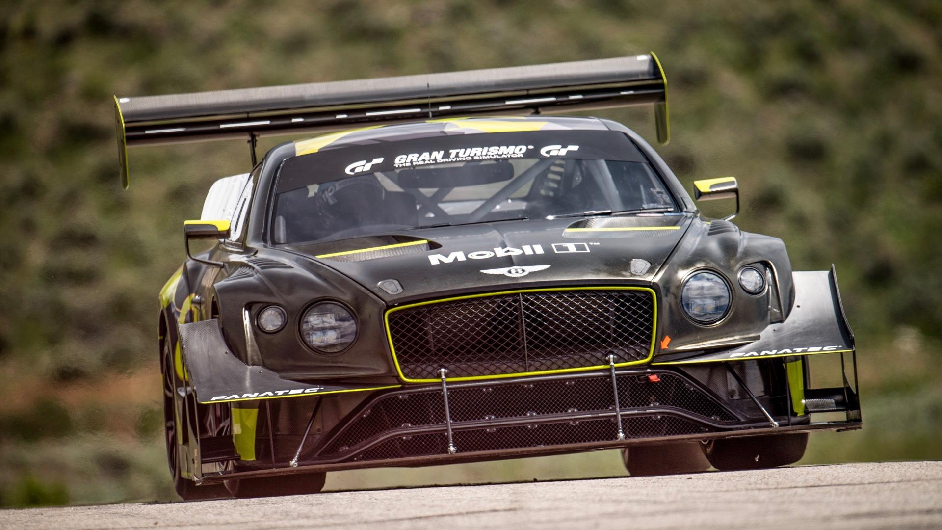 Bentley Continental GT3 Pikes Peak