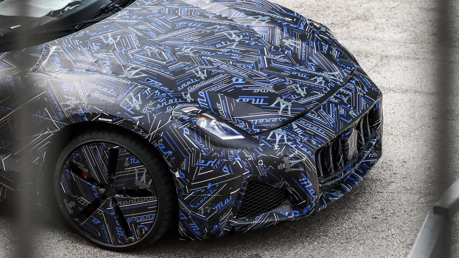 Electric Maserati GranTurismo prototype