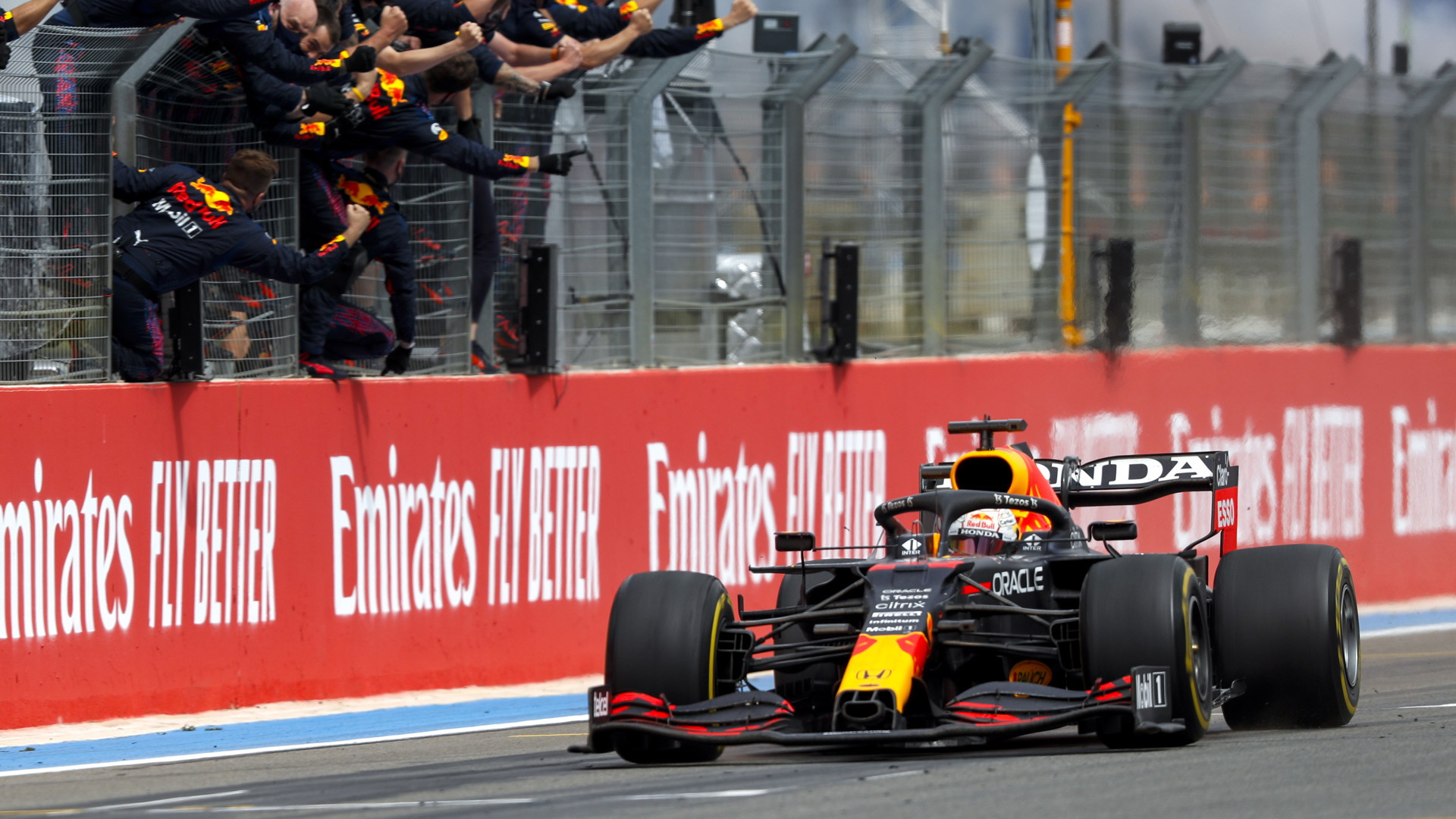 Max Verstappen at the 2021 Formula One French Grand Prix