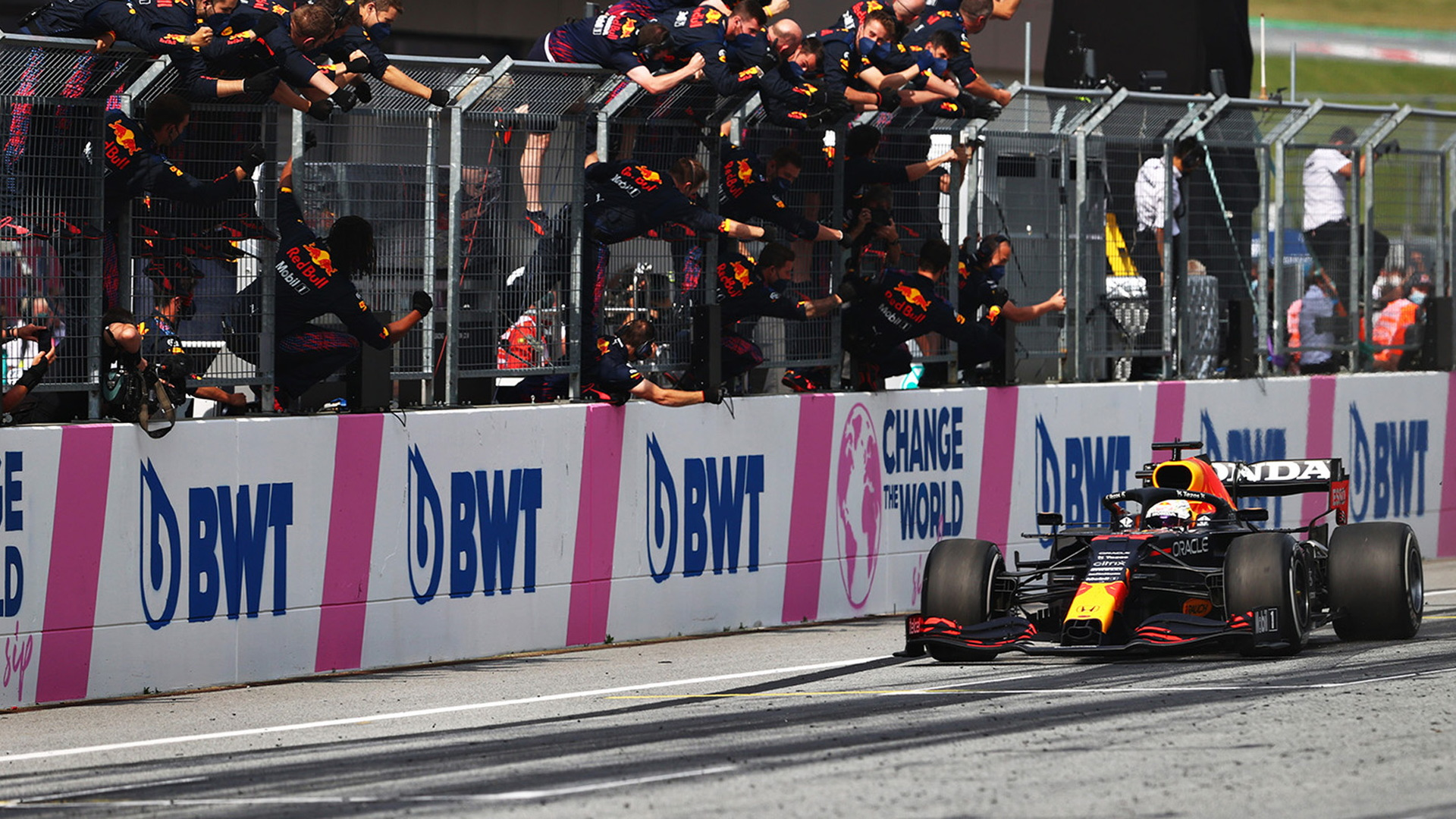 Red Bull Racing's Max Verstappen at the 2021 Formula One Austrian Grand Prix