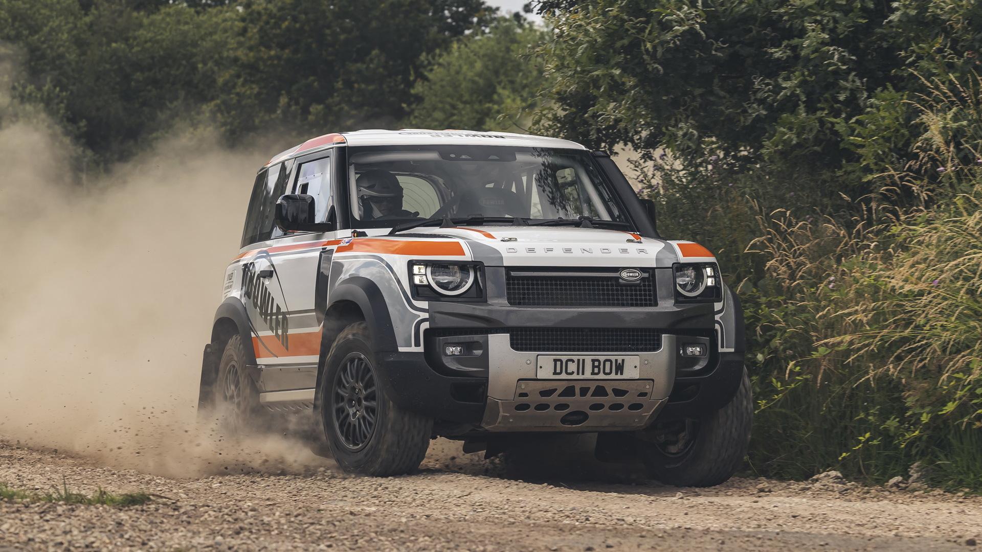 2022 Bowler Defender Challenge rally car