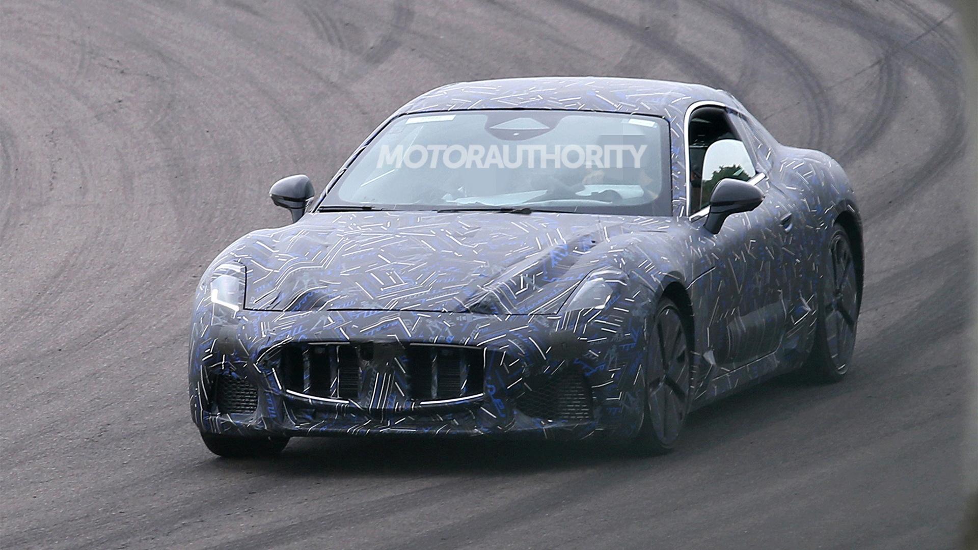 2023 Maserati GranTurismo spy shots - Photo credit:S. Baldauf/SB-Medien