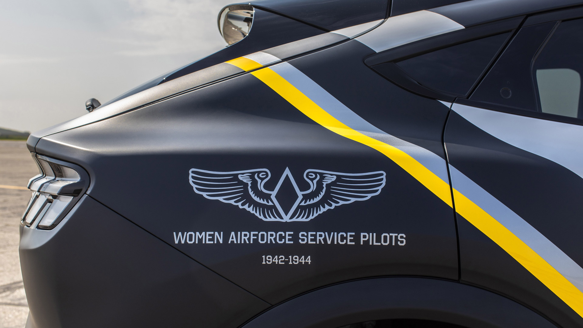 Women Airforce Service Pilots 2021 Ford Mustang Mach-E