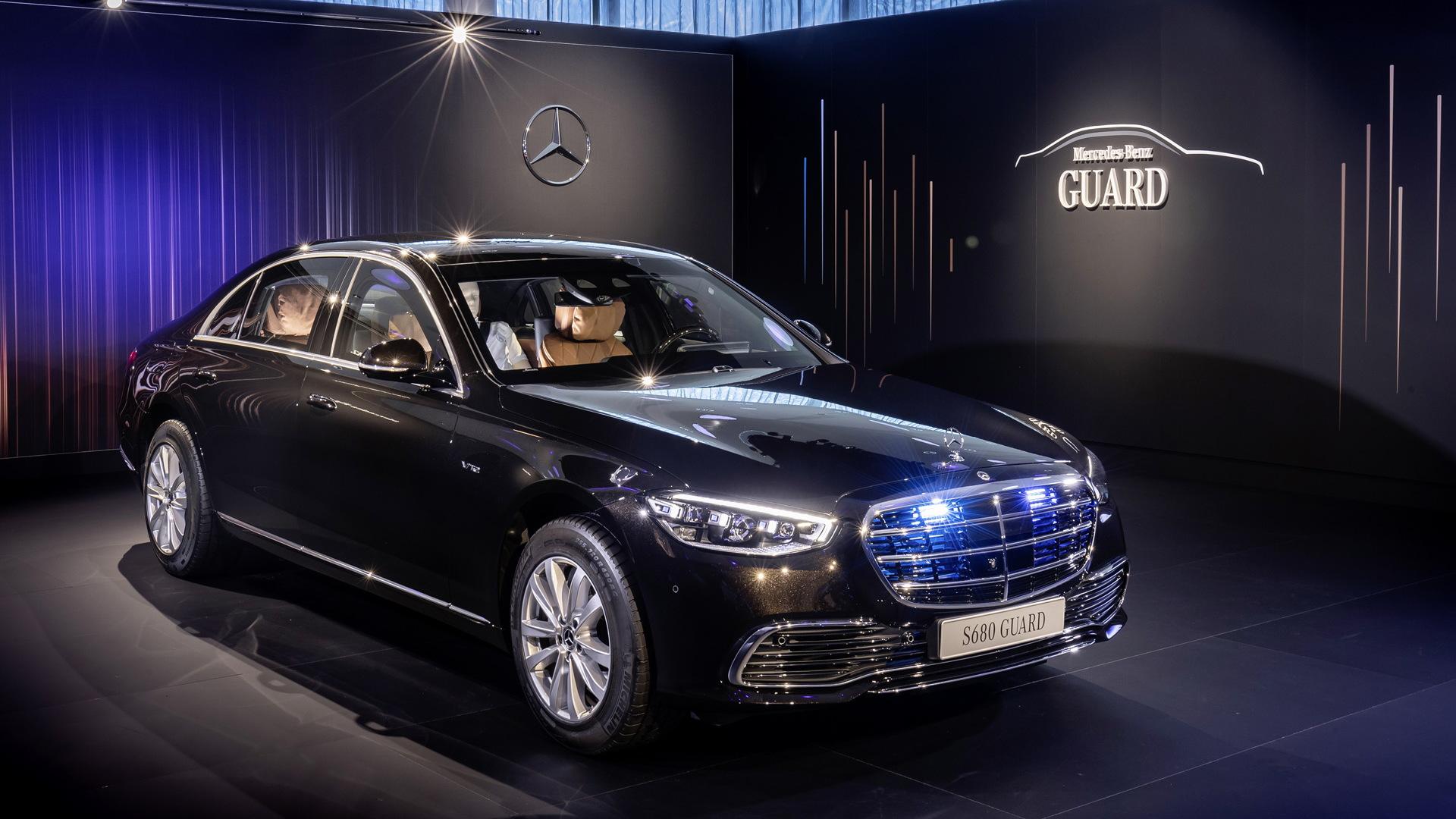 2021 Mercedes-Benz S-Class Guard