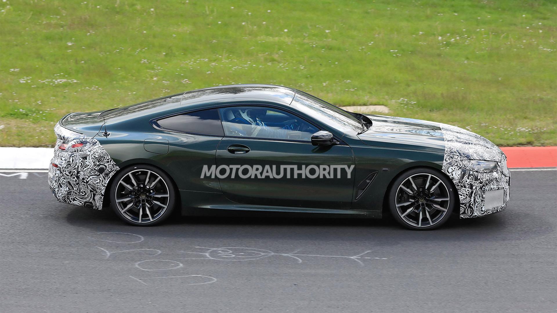 2023 BMW 8-Series facelift spy shots - Photo credit:S. Baldauf/SB-Medien