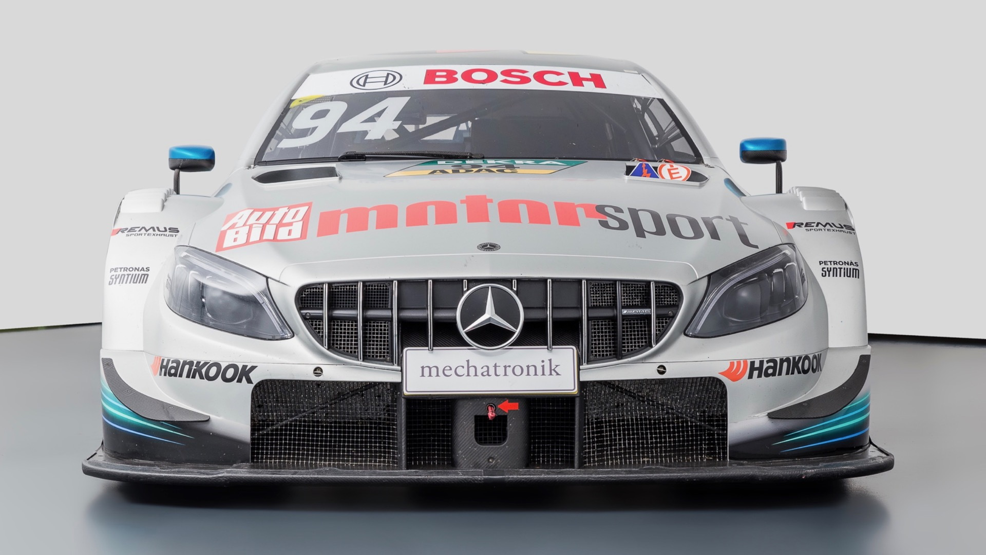 2014 Mercedes-Benz C63 AMG DTM race car (photo via Mechatronik)