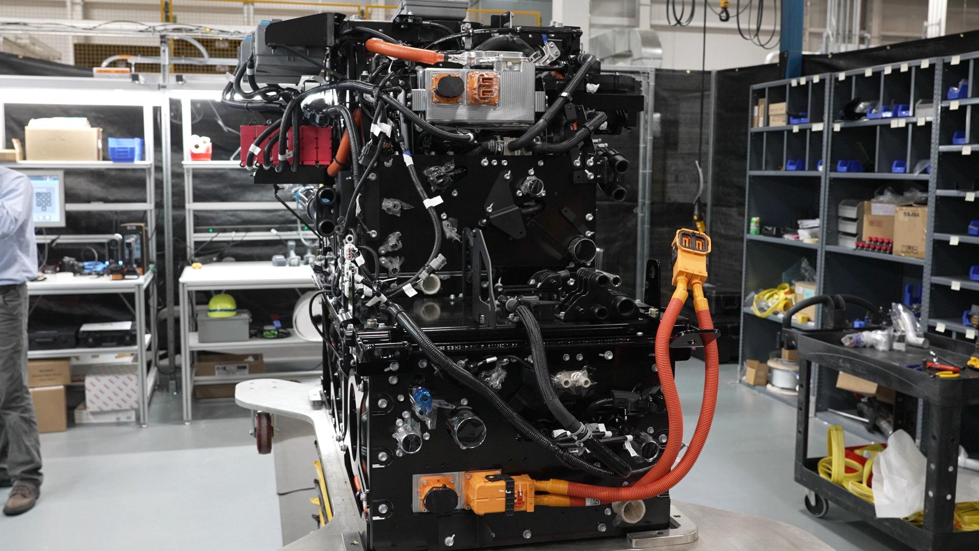 Toyota fuel cell for heavy-duty trucks