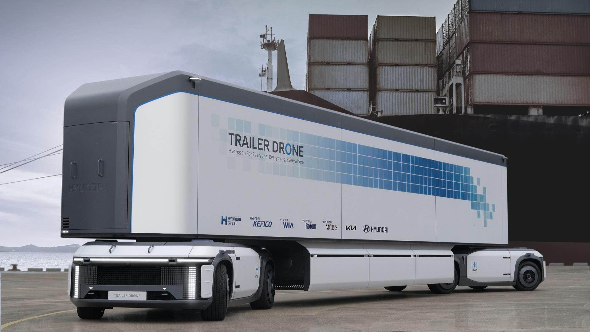 Hyundai e-Bogie cargo drone system