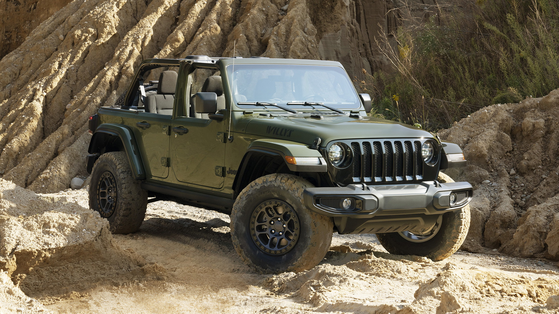 2022 Jeep Wrangler Willys with Xtreme Recon Package