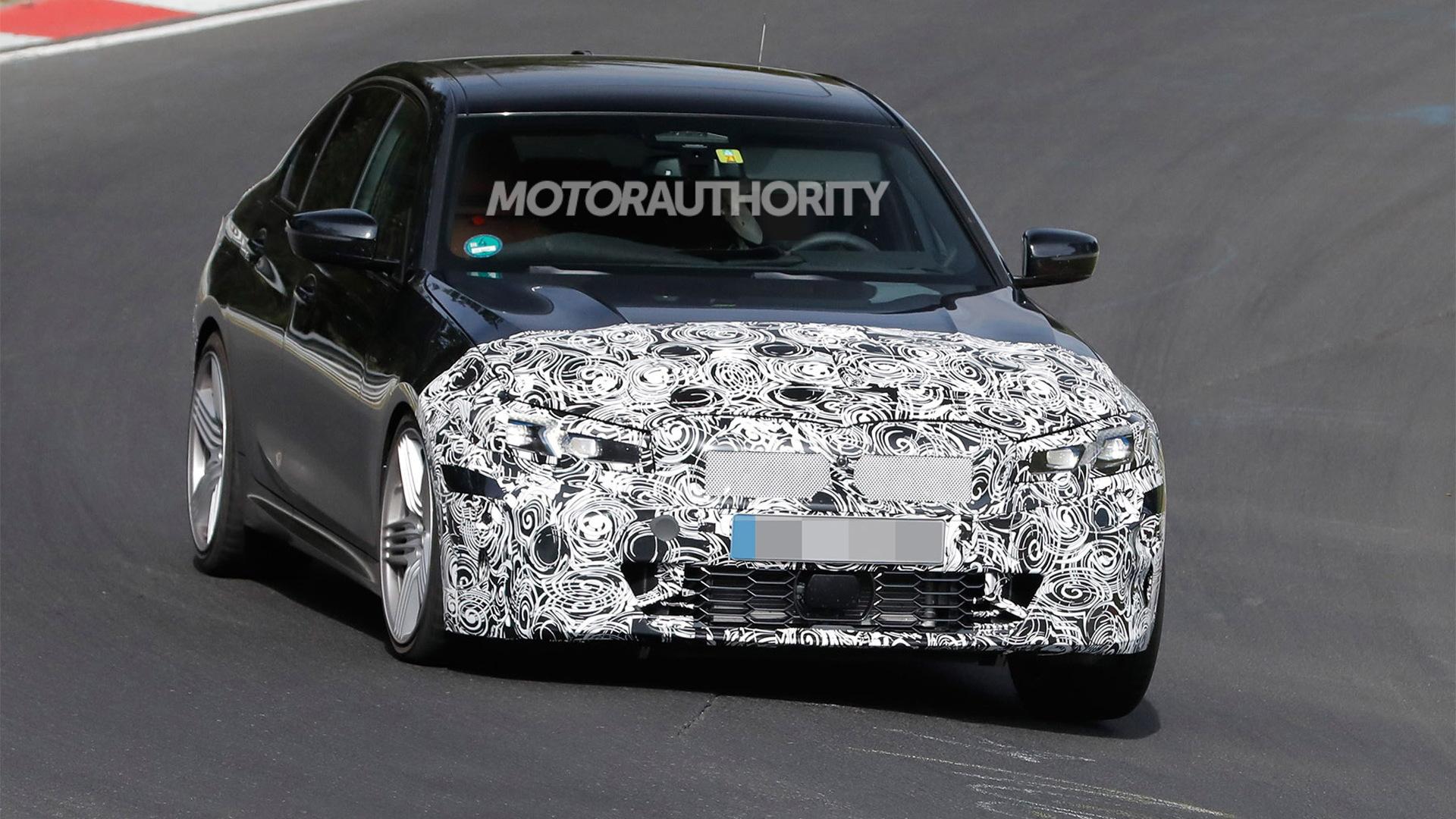 2023 BMW Alpina B3 facelift spy shots - Photo credit:S. Baldauf/SB-Medien