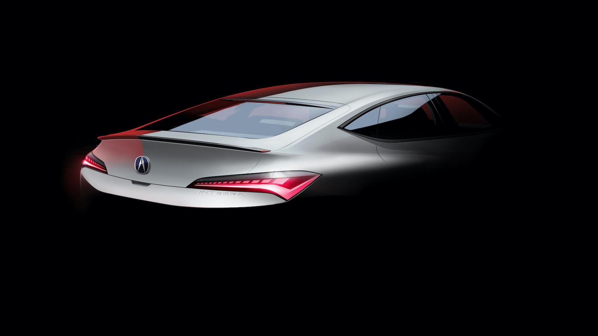 Teaser for Acura Integra