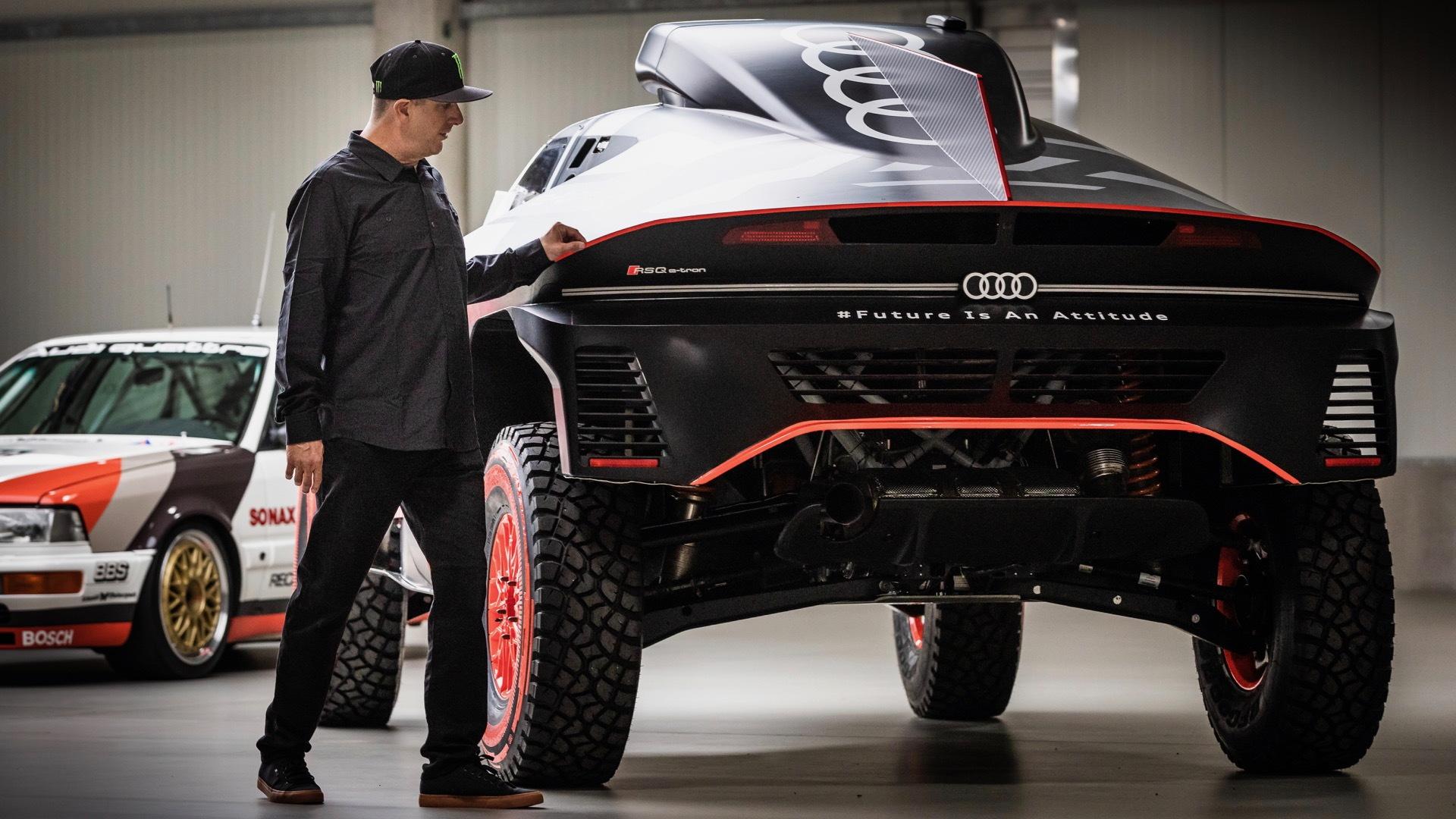 Ken Block and Audi