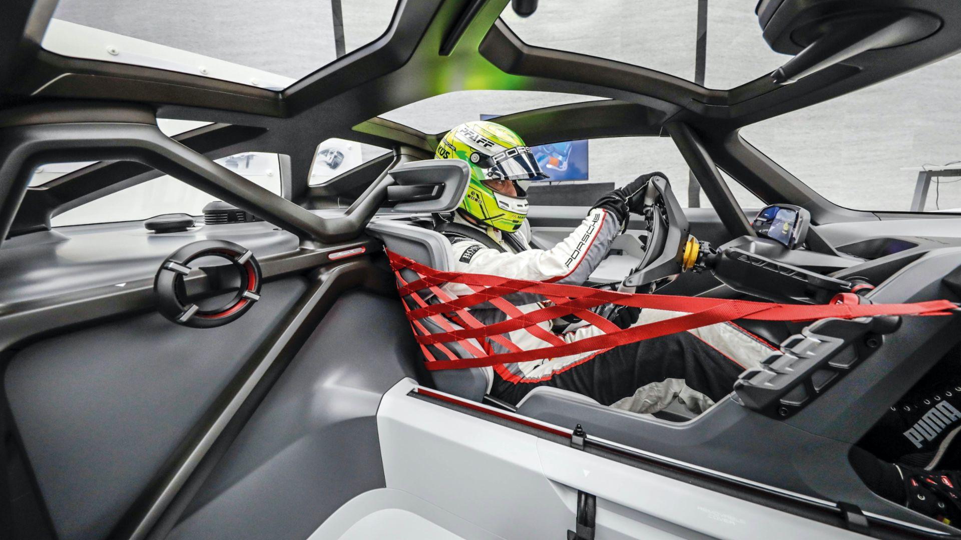 Porsche Mission R development