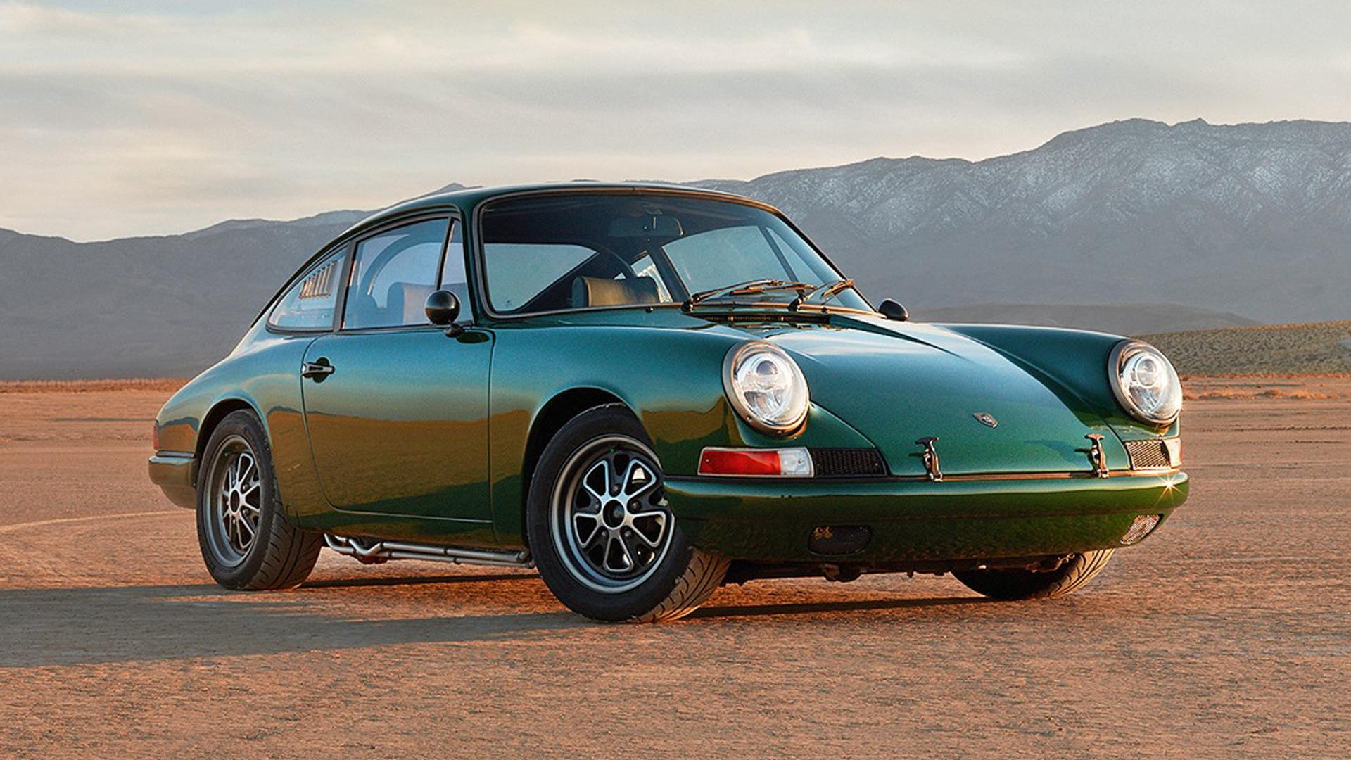 Porsche 912 electric conversion by Zelectric