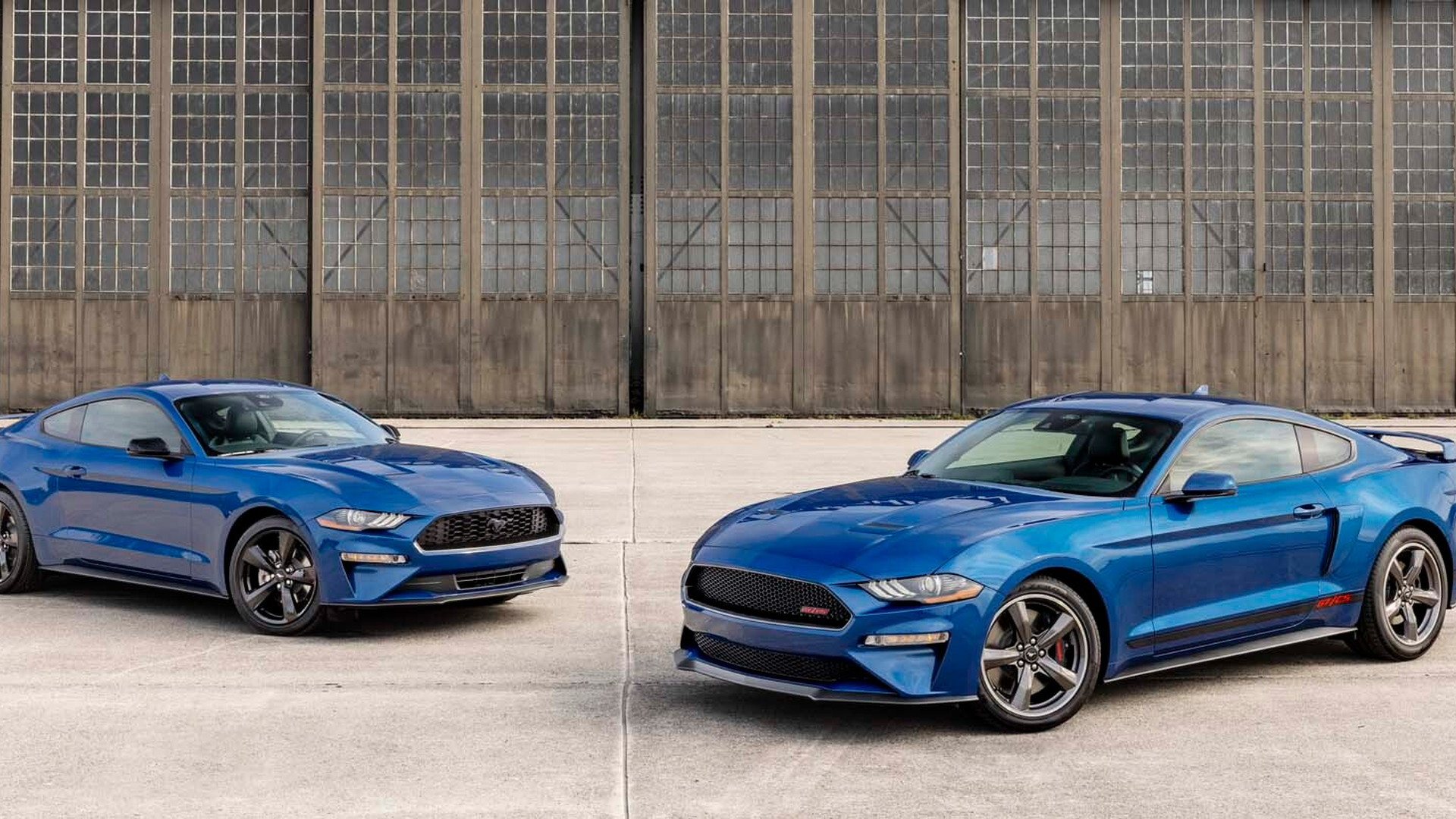 2022 Ford Mustang Stealth Edition and California Special
