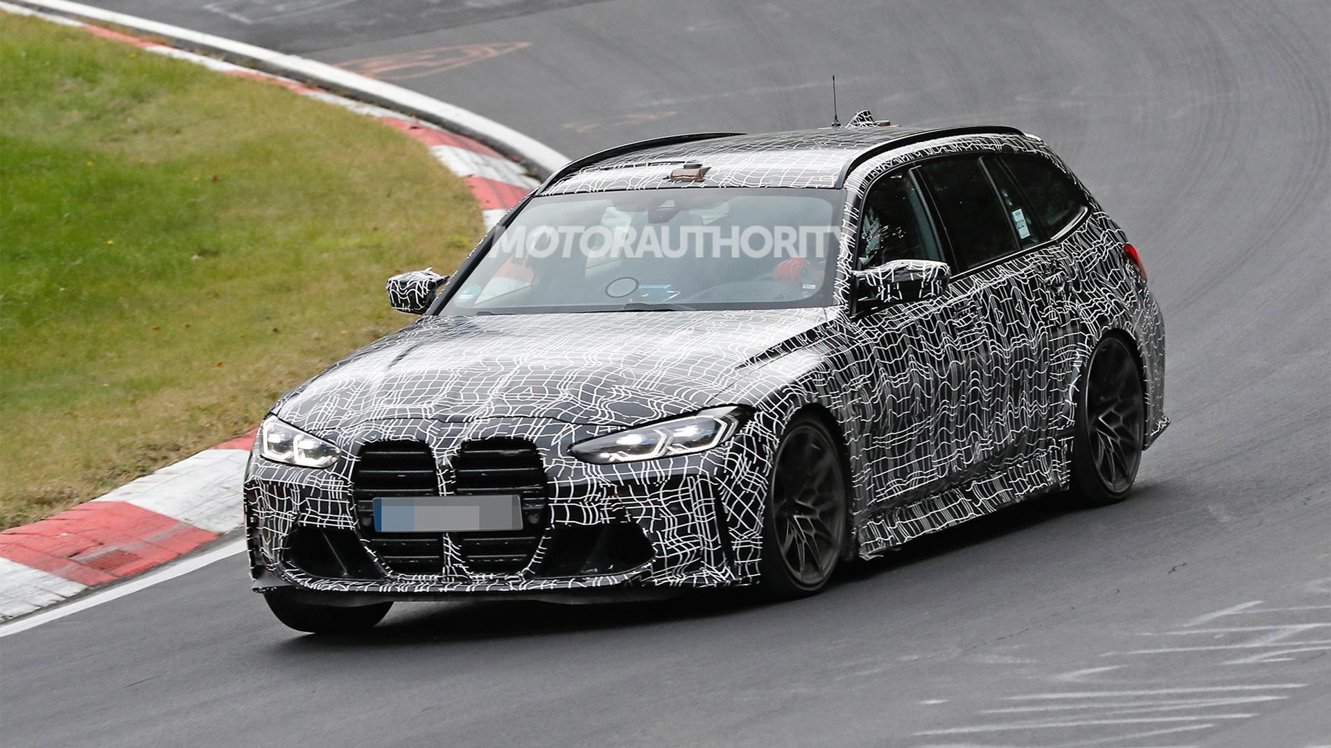 2022 BMW M3 Touring spy shots - Photo credit: S. Baldauf/SB-Medien