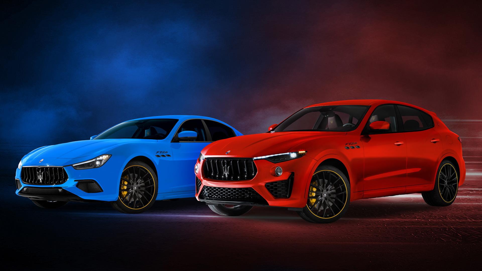 Maserati Ghibli F Tributo and Levante F Tributo