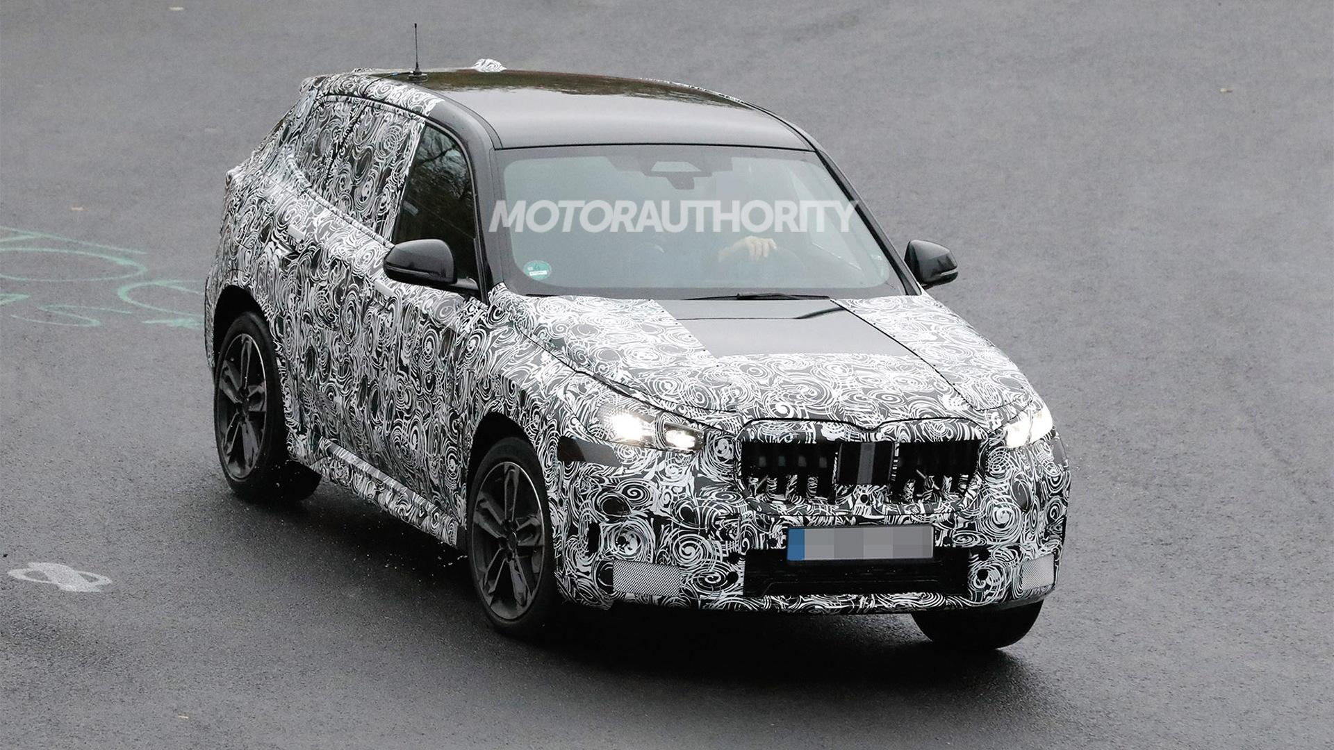 2023 BMW X1 M35i spy shots - Photo credit:S. Baldauf/SB-Medien