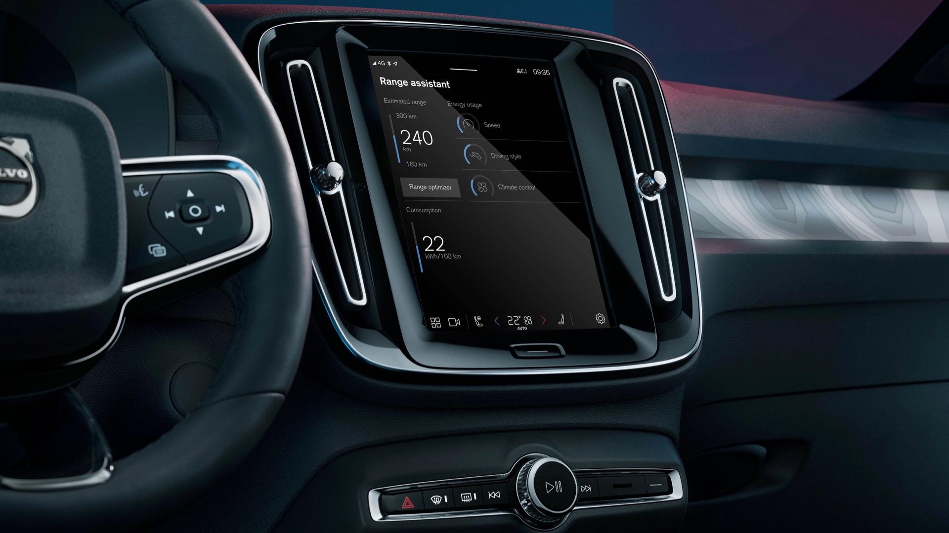 Volvo Range Assistant app