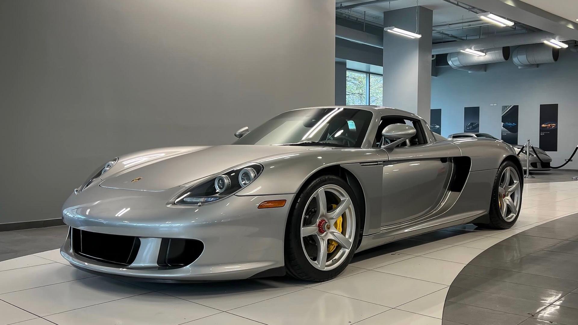 2005 Porsche Carrera GT (photo via P Car Market)