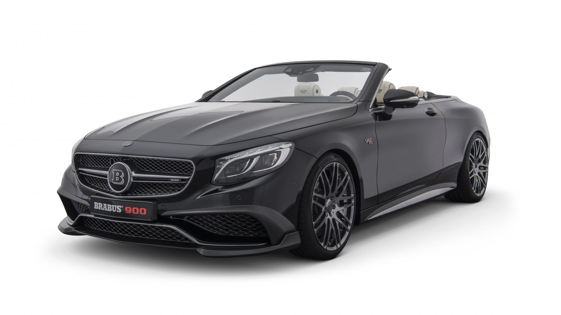 Brabus 900 Rocket based on the Mercedes-AMG S65 Cabrio