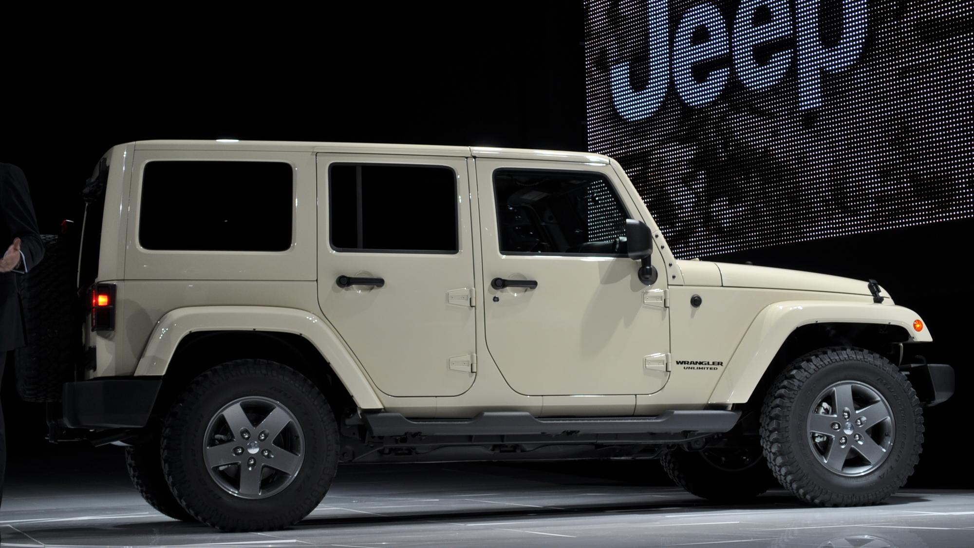 2011 Jeep Wrangler Mojave