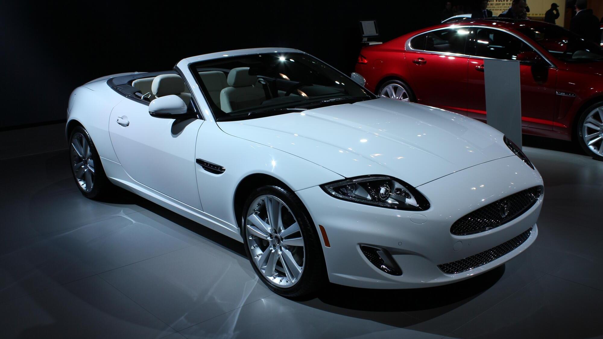 2012 Jaguar XK Convertible live photos