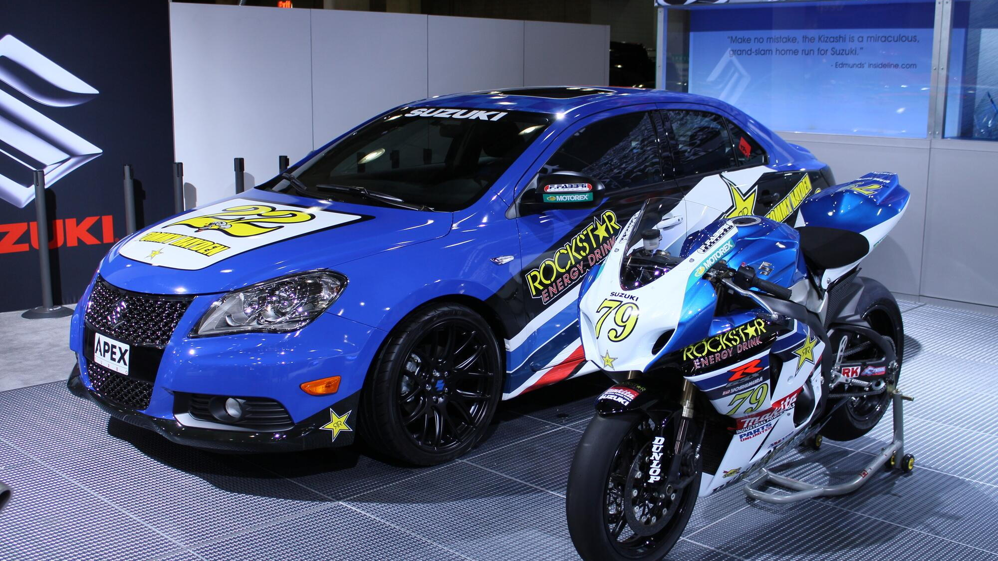 Suzuki Apex Concept live photos