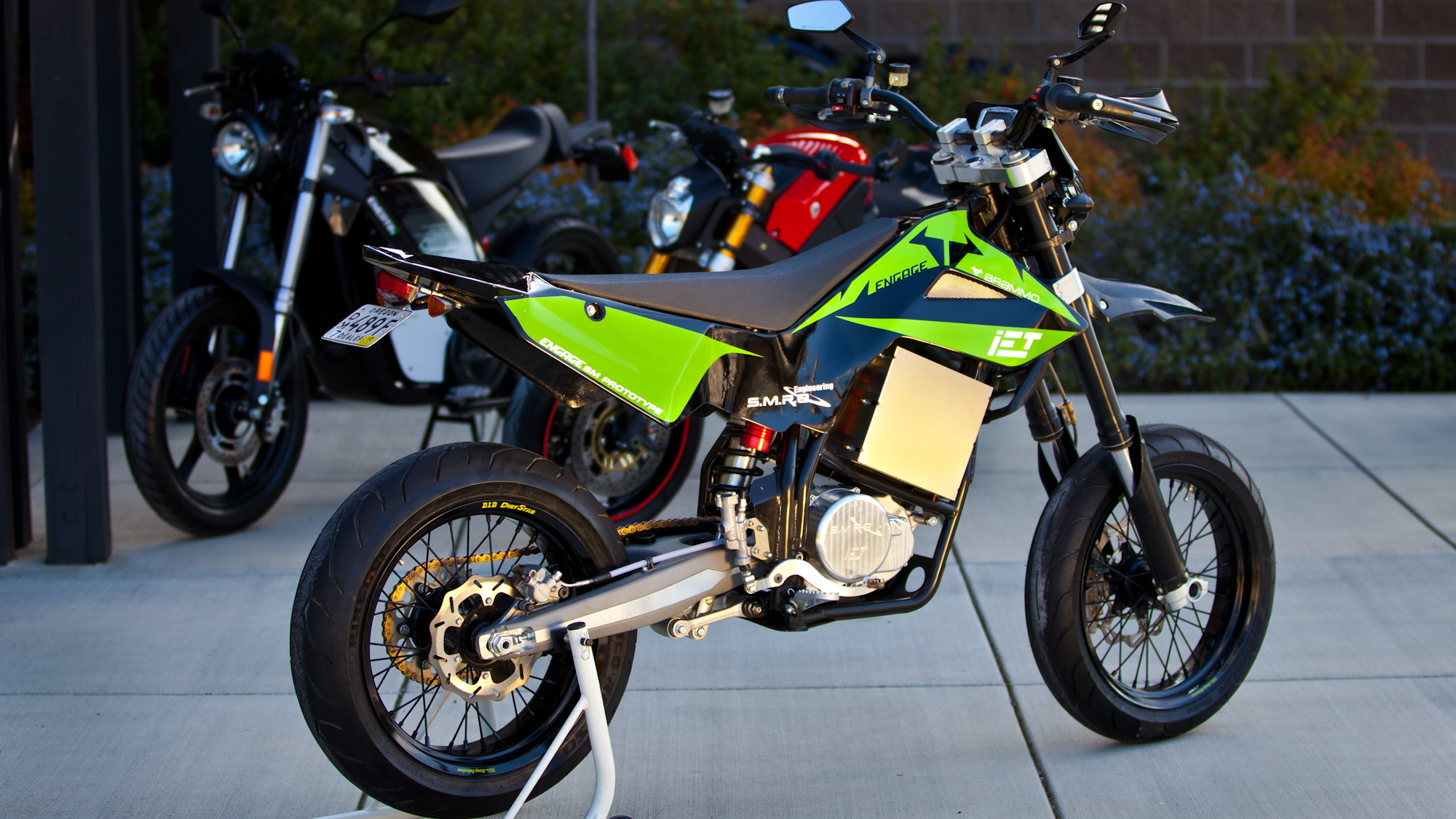 Brammo Engage electric motorcycles