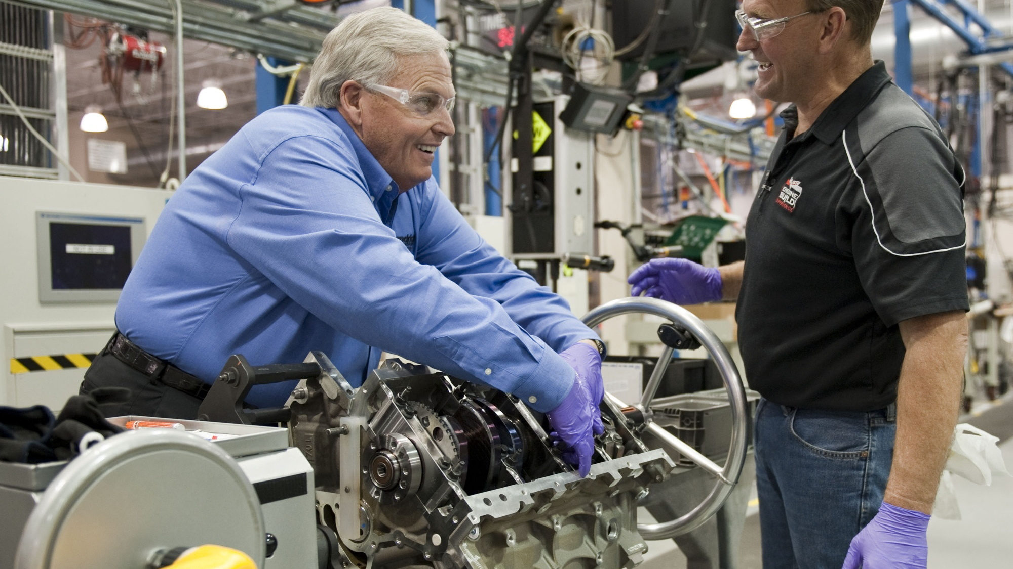 Rick Hendrick Hand Builds Corvette Z06 Engine
