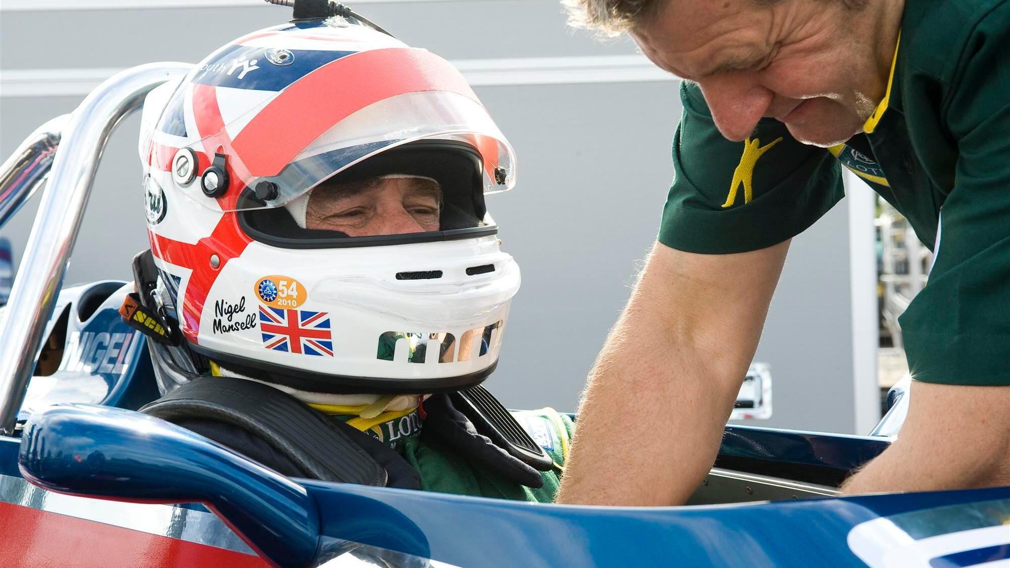 Lotus re-launches its Hethel test track with Nigel Mansell, Jean Alesi
