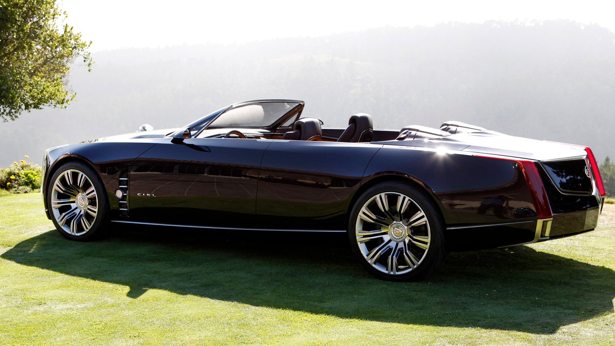 Cadillac Ciel Four Seat Convertible Concept Launch In Carmel California Aug 2017