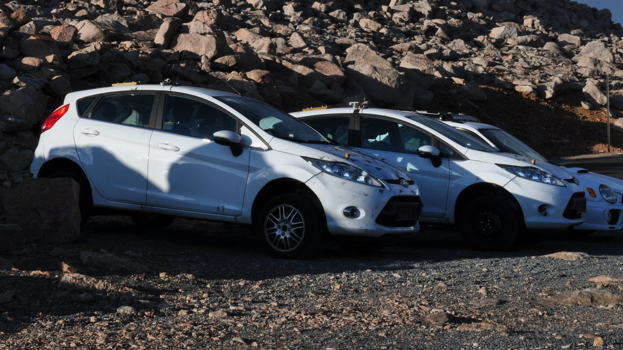 Ford Fiesta crossover with EcoBoost spotted