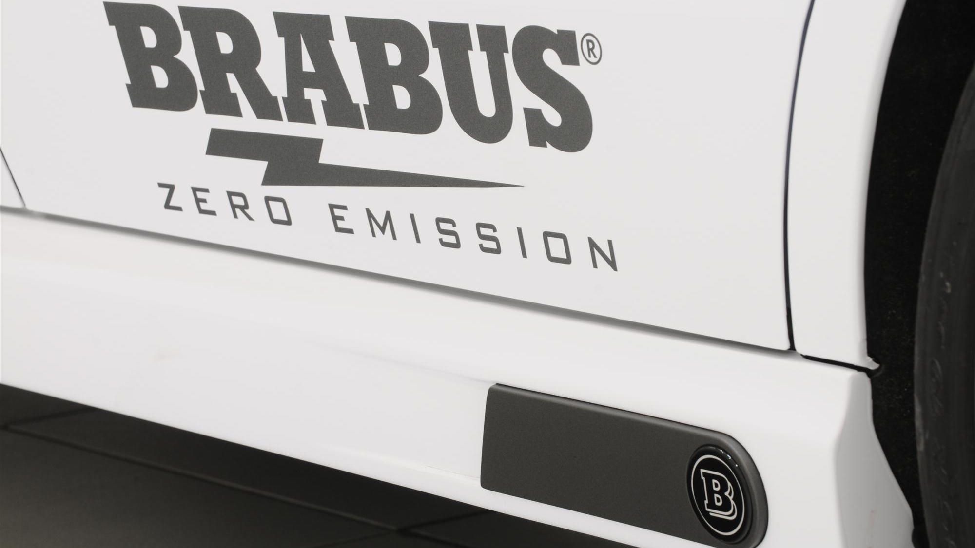 2011 Brabus High Performance 4WD Full Electric concept car