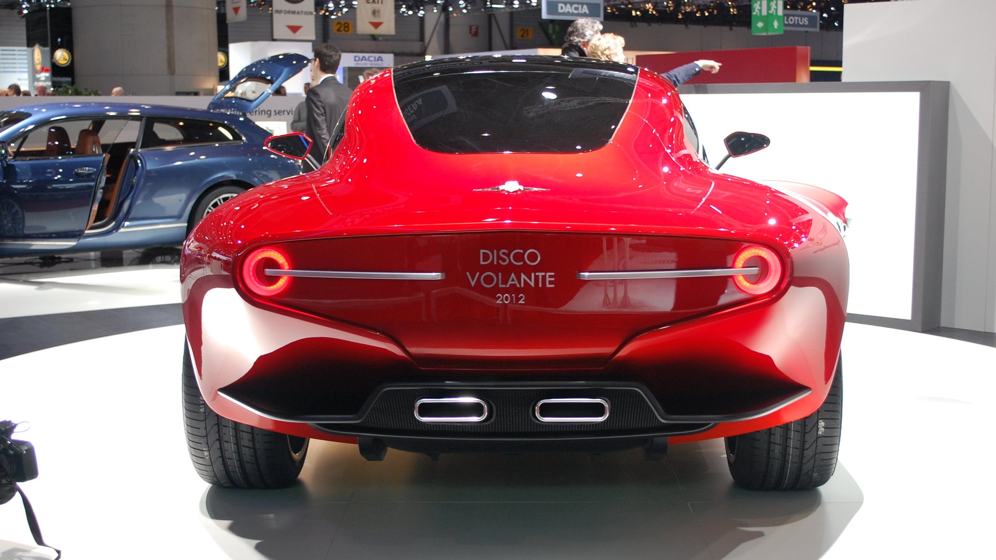 Touring Superleggera Disco Volante 2012 live photos