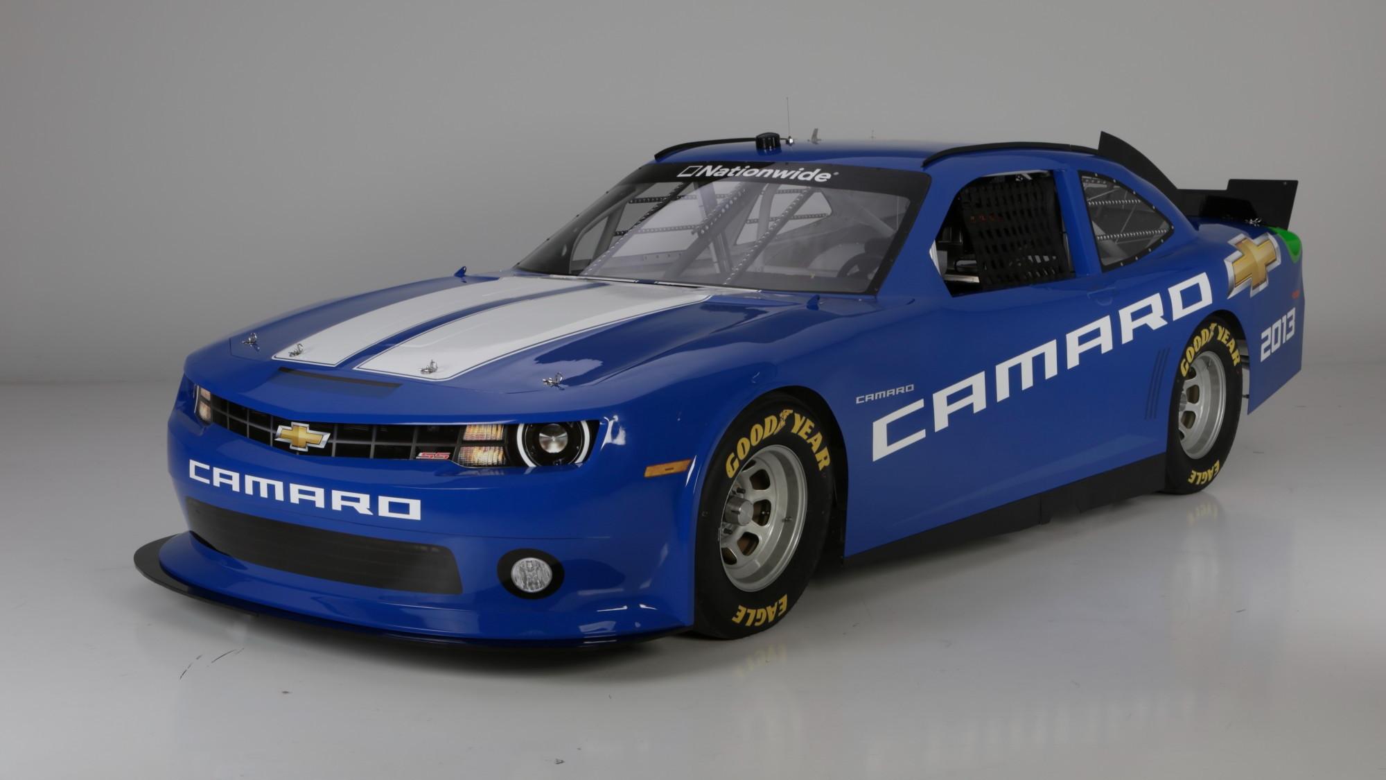 2013 Chevy Camaro NASCAR Nationwide race car
