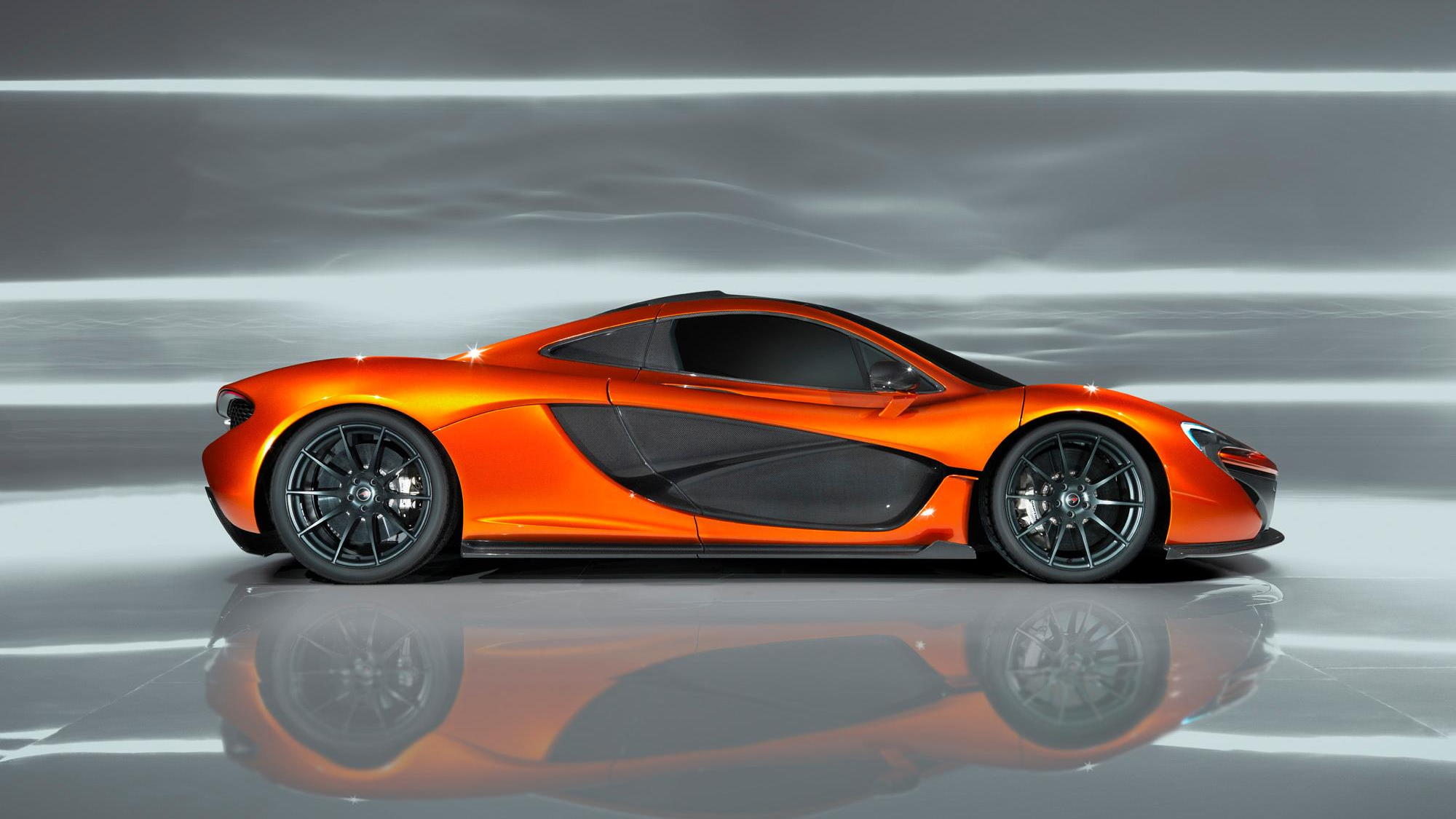 McLaren P1 supercar, first images