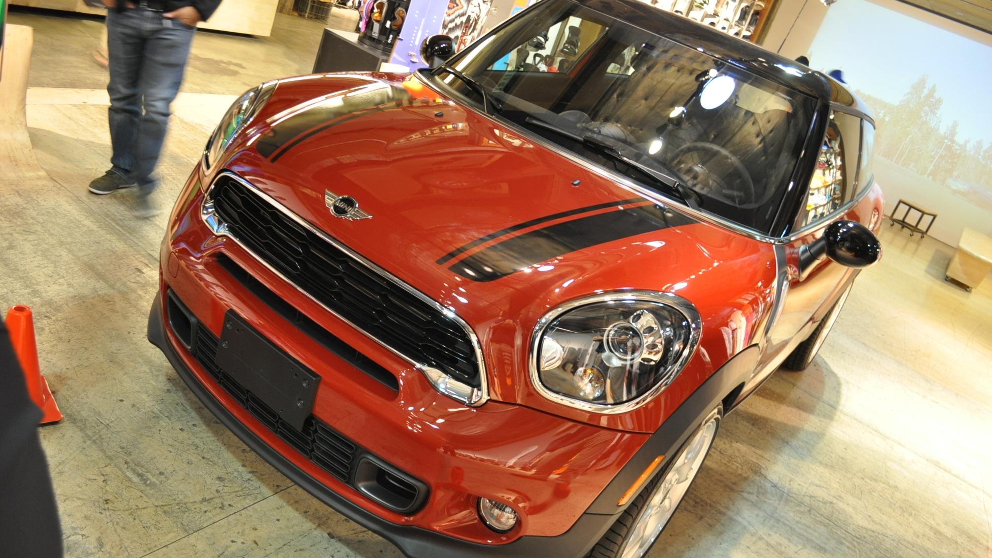 2013 MINI Cooper S Paceman, 2012 LA Auto Show Live Shots