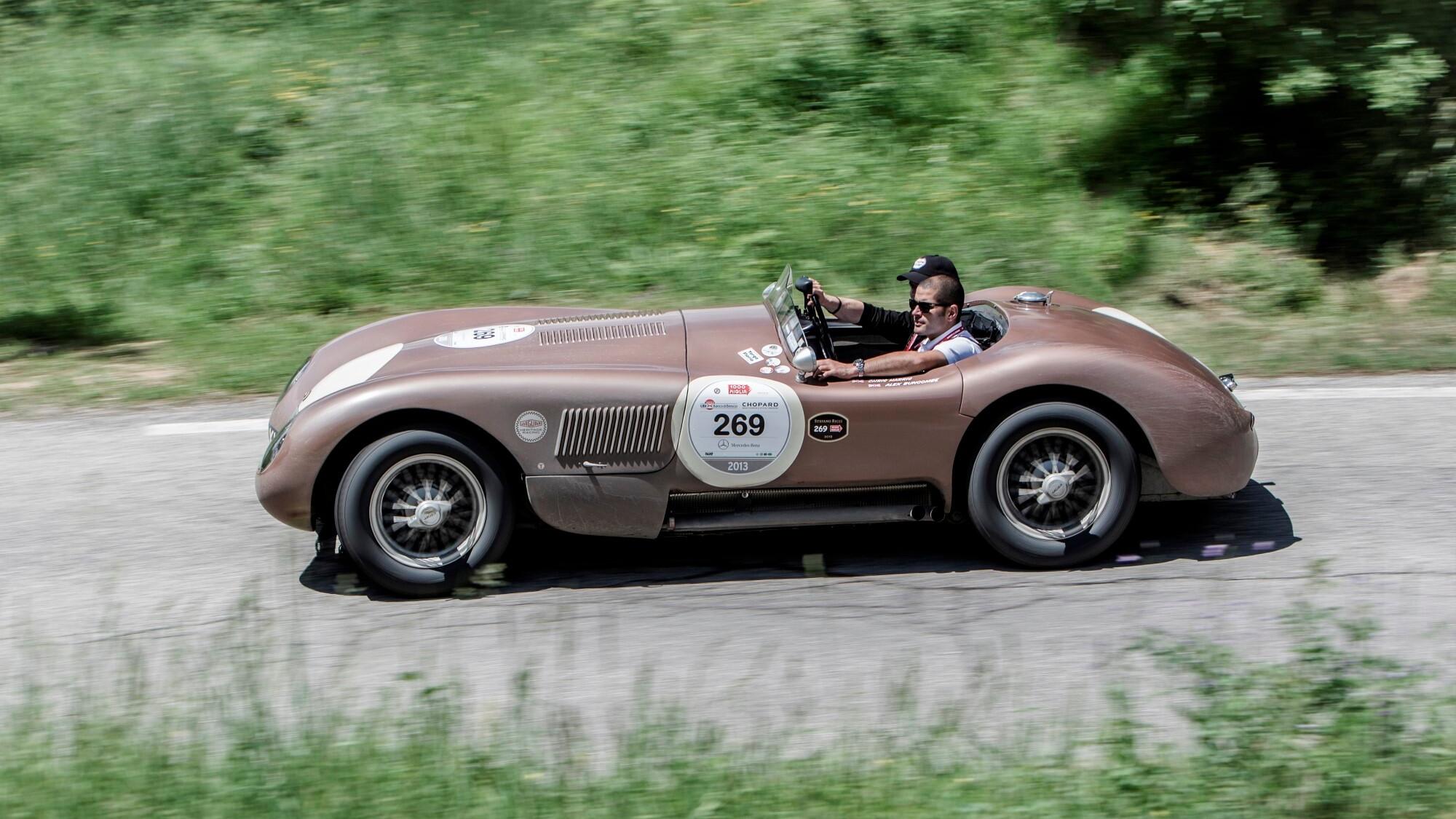 Jaguar Mille Miglia, 2013