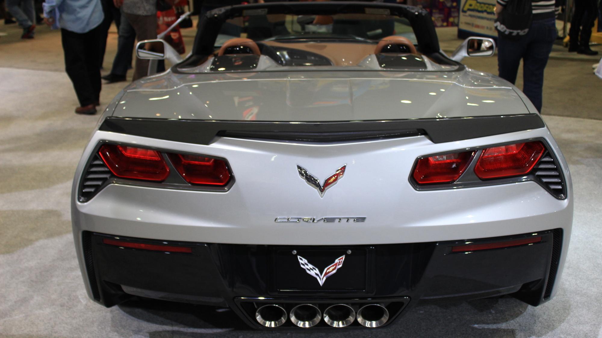 Corvette Stingray Convertible Atlantic Concept, 2013 SEMA Show