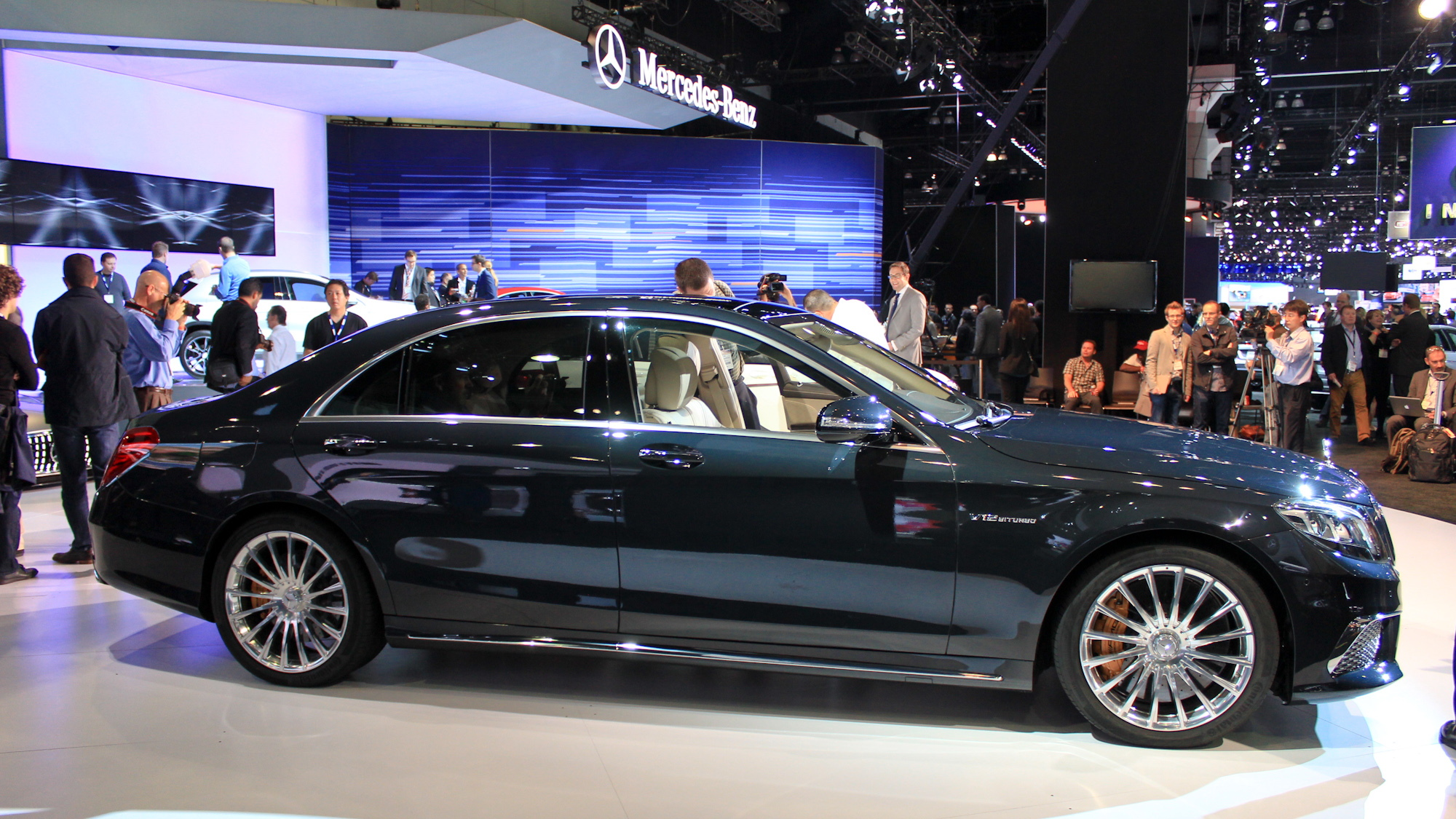 2015 Mercedes-Benz S65 AMG, 2013 Los Angeles Auto Show