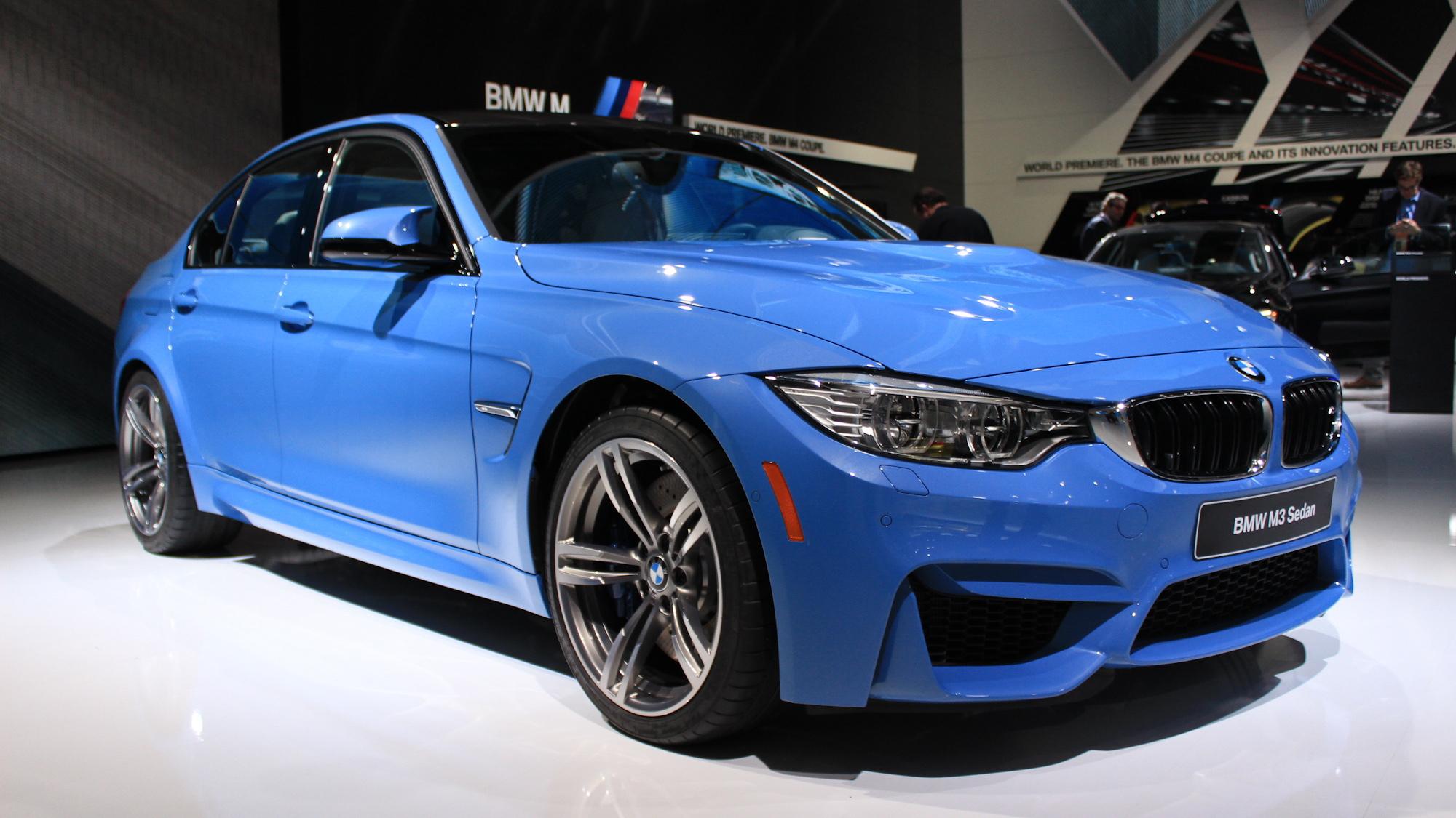 2015 BMW M3 live photos, 2014 Detroit Auto Show