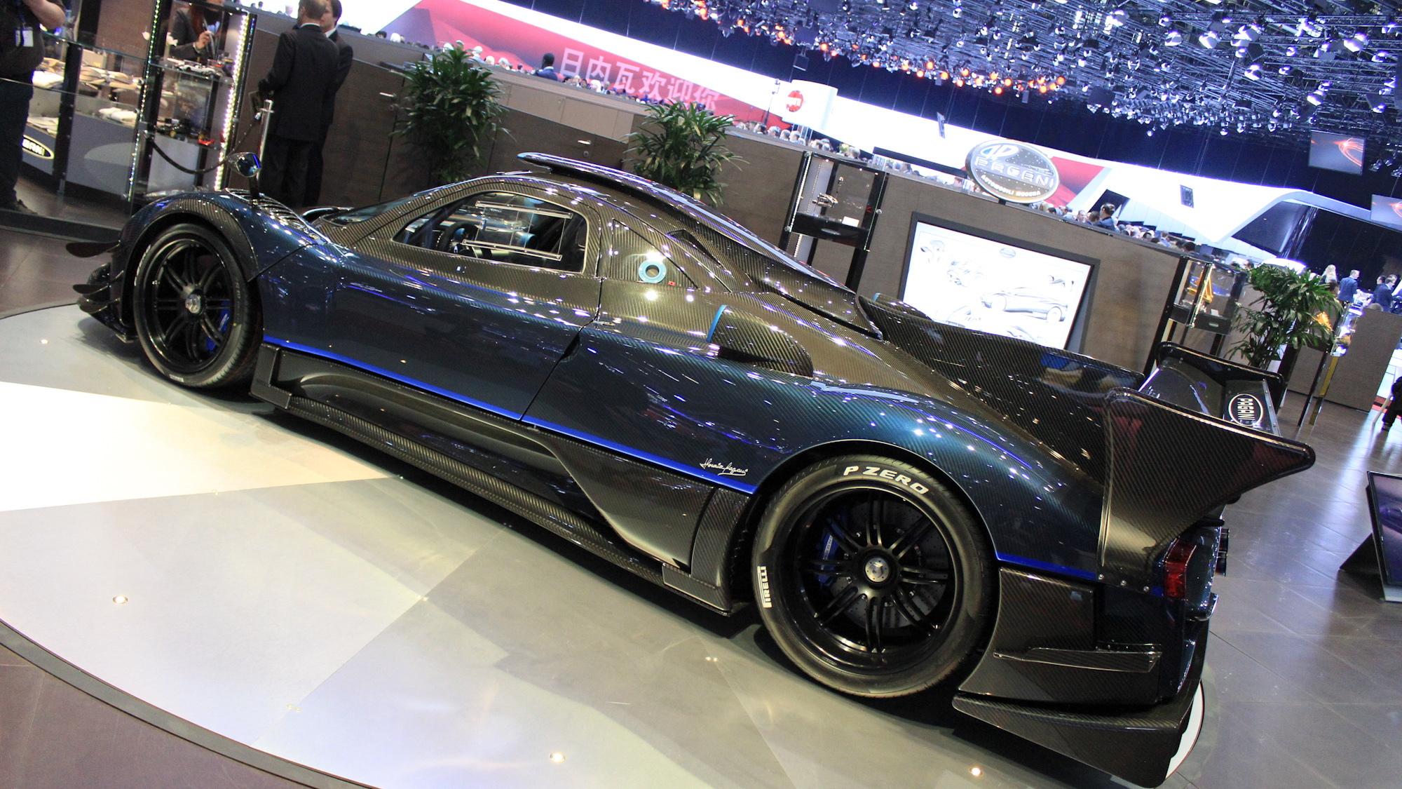 Pagana Zonda Revolucion, 2014 Geneva Motor Show