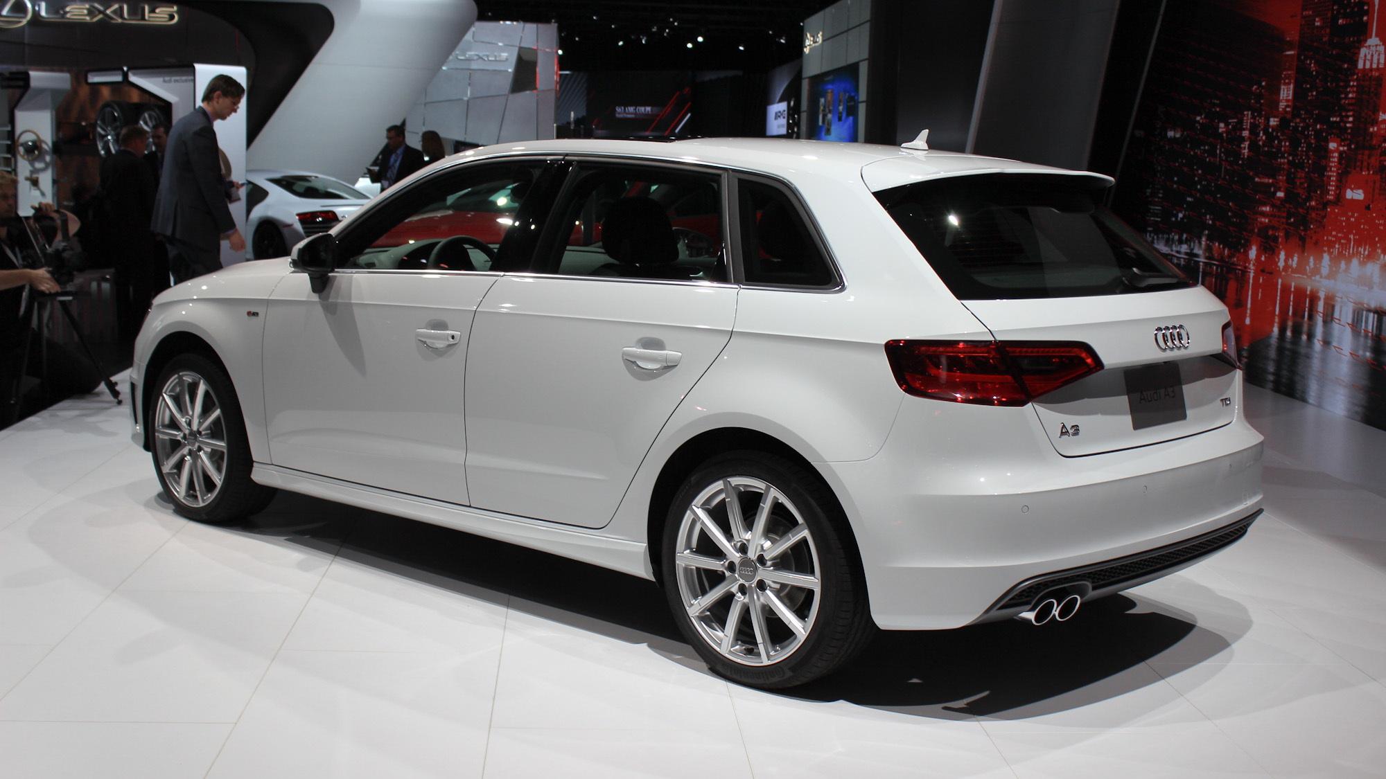 Audi A3 TDI Sportback, 2014 New York Auto Show