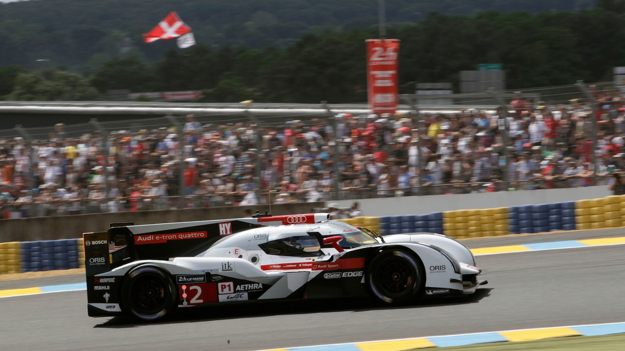 Audi celebrates its 13th Le Mans 24 Hours win in 2014